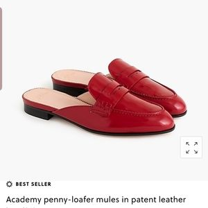 J crew academy penny loafers